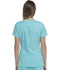 Photograph of Break on Through Women's V-Neck Top Blue HS660-SLSH