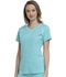 Photograph of Break on Through Women's Love 2 Love U V-Neck Top Blue HS660-SLSH