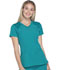 Photograph of Break on Through Women's V-Neck Top Blue HS660-TEAH