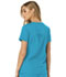 Photograph of Break on Through Women's V-Neck Top Blue HS660-TURH