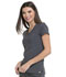 Photograph of Love Always Women's V-Neck Top Gray HS665-PWPS