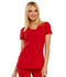 Photograph of Love Always Women's V-Neck Top Red HS665-RED