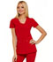 Photograph of Love Always Women V-Neck Top Red HS665-RED