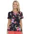 Photograph of HeartSoul Prints Women Shaped V-Neck Top Floral-Ever Fruity HS671-FVFT