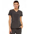 Photograph of Love Always Women's V-Neck Top Gray HS675-PWPS