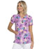 Photograph of HeartSoul Prints Women's V-Neck Top Let's Garden Party HS676-LEGP