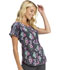 Photograph of HeartSoul Prints Women Round Neck Top Midnight Garden Party HS686-MTGY