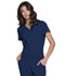 Photograph of Break on Through Women Tuckable V-Neck Top Blue HS710-NAYH