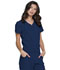 Photograph of Break on Through Women V-Neck Top Blue HS710-NAYH