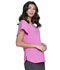Photograph of Love Always Women's V-Neck Top Pink HS735-PMUH