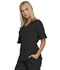 Photograph of Break on Through Women's Mock Wrap Top Black HS740-BCKH