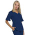 Photograph of Break on Through Women's Mock Wrap Top Blue HS740-NAYH