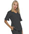 Photograph of Break on Through Women's Mock Wrap Top Gray HS740-PEWH
