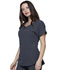Photograph of Break on Through Women Round Neck Top Gray HS745-PEWH