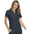 Photograph of Break on Through Women Split Neck Top Gray HS765-PEWH