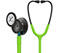 Photograph of student lightweight Unisex Classic III Monitoring Stethoscope Pop Green L5875SM-LMG