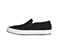 Photograph of Infinity Footwear Shoes Men's MRUSH Black Canvas with White MRUSH-TBLW