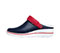 Photograph of Anywear Women's PEAK Navy with Red and White Sole PEAK-NVRW