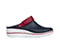 Photograph of Anywear Women PEAK Navy with Red and White Sole PEAK-NVRW