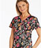 Photograph of Runway Prints Women's Mock Wrap Top Mixed Petals RW601-MXPT