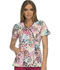 Photograph of Runway Prints Women's Mock Wrap Top Spotted Heart RW601-SPHT