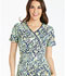 Photograph of Runway Prints Women's Mock Wrap Top Stone Age RW601-STAG