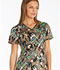 Photograph of Runway Prints Women's V-Neck Top Flutter Fantasia RW607-FLFA