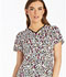 Photograph of Runway Prints Women's V-Neck Top Skin Deep RW607-SIDE