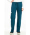Photograph of Sapphire Women's Vienna Mid Rise Straight Leg Pant Blue SA100A-CAR