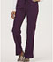 Photograph of Sapphire Women's Vienna Mid Rise Straight Leg Pant Purple SA100A-EGG