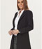 Photograph of Sapphire Women's Milan 34 Lab Coat Black SA400A-BBKS