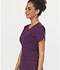 Photograph of Sapphire Women's Madison Mock Wrap Top Purple SA600A-EGG