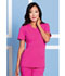 Photograph of Sapphire Women's Madison Mock Wrap Top Pink SA600A-PKSS