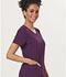 Photograph of Sapphire Women's Paris V-Neck Top Purple SA601A-EGG