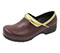 Photograph of Anywear Women's SRANGEL Burgundy Gold Black SRANGEL-BGBK