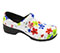 Photograph of Anywear Women's Closed Back Plastic Clog Magnificent Meadow SRANGEL-MFMD