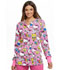 Photograph of Licensed Prints Women's Snap Front Warm-Up Jacket Color Me Hello Kitty TF300-HKCS