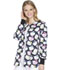 Photograph of Cherokee Licensed Women's Snap Front Warm-Up Jacket Hello Kitty Glasses TF300-HKGS