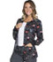 Photograph of Cherokee Licensed Women's Snap Front Warm-Up Jacket Buttons And Bows TF300-MKBB