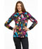 Photograph of Licensed Prints Women's Snap Front Warm-Up Jacket Ariel's Garden TF300-PRAG