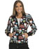 Photograph of Cherokee Licensed Women's Zip Front Warm-up Jacket Hello Friends TF301-HKTM