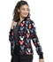 Photograph of Licensed Prints Women Zip Front Warm-up Jacket That's Snow Mickey TF301-MKTS