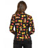 Photograph of Licensed Prints Women Zip Front Warm-Up Jacket A Bear Likes Honey TF306-PHAB