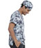 Photograph of Licensed Prints Unisex Unisex Scrub Hat Jurassic Dino Stomp TF513-JWOM