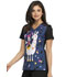Photograph of Licensed Prints Women V-Neck Top Llamasine Service TF608-MNLS
