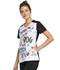 Photograph of Licensed Prints Women's V-Neck Top A Better Life TF608-PNET