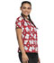 Photograph of Licensed Prints Women's V-Neck Top Hello Kitty Letters TF610-HKTT