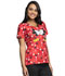 Photograph of Licensed Prints Women's V-Neck Top My Secret TF614-MNYS
