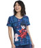 Photograph of Licensed Prints Women V-Neck Top Babysitting Mode TF626-ICTT