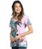 Photograph of Licensed Prints Women V-Neck Top Mowgli And Friends TF626-JBAF
